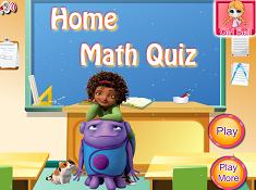 Home Math Quiz