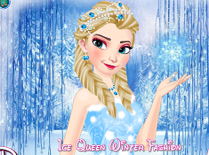 Ice Queen Winter Fashion