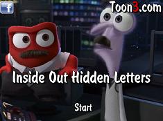 Inside Out Hidden Letters