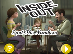 Inside Out Spot the Numbers