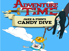 Adventure Time: Jake and Finns Candy Dive
