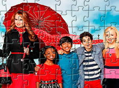 Jessie Characters Puzzle