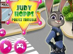 Judy Hopps Police Trouble