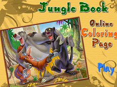 Jungle Book Online Coloring