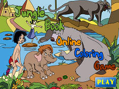 Jungle Book Online Coloring 2