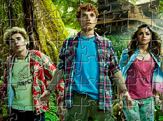 Jungle Nest Characters Puzzle