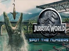 Jurassic World Spot the Numbers