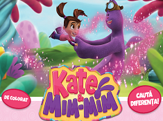 Kate and Mim Mim Coloring