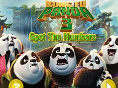 Kung Fu Panda 3 Spot the Numbers