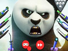 Kung Fu Panda Dental Check