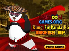 Kung Fu Panda Po Dress Up