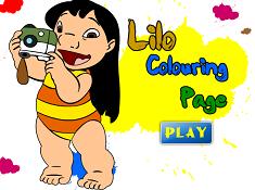 Lilo Coloring