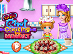 Little Chef Cooking with Mommy