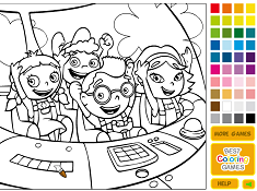 Little Einsteins Coloring