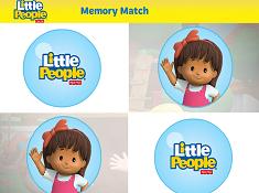 Little People Memory Match