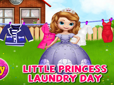 Little Princess Laundry Day