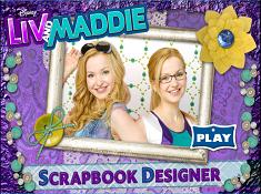 Liv And Maddie Scrapbook Designer