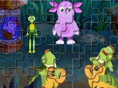 Luntik Walk Puzzle