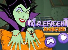 Maleficent Manicure