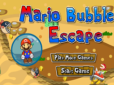Mario Bubble Escape