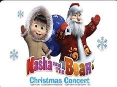 Masha and the Bear Christmas Jigsaw