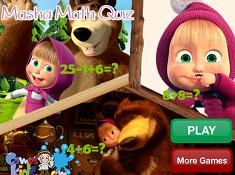 Masha Math Quiz