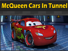 McQueen Cars in Tunnel