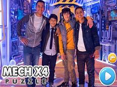 Mech X4 Puzzle