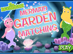 Mermaid Garden Matching