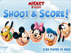 Mickey and Friends Shoot and Score