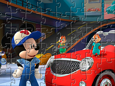 Mickey and the Roadster Racers Puzzle