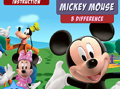 Mickey Mouse 5 Difference
