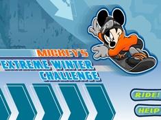Mickeys Extreme Winter Challenge
