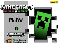 Minecraft Where is Creeper