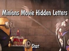 Minion Movie Hidden Letters