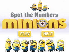 Minions Spot the Numbers