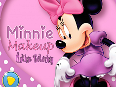 Minnie Makeup Online Coloring