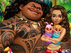 Moana Baby Twins Birth