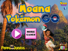 Moana Pokemon Go