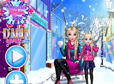 Mommy Elsa Winter Day