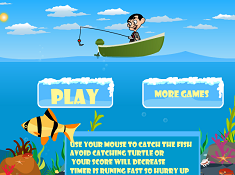 Mr Bean Fishing