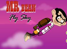 Mr Bean Fly Sky