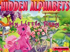 My Little Pony Hidden Alphabets