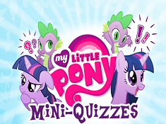 My Little Pony MiniQuizzes