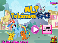 My Little Pony Play Pokemon Go