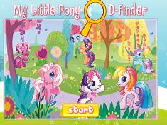 My Littlle Pony D Finder