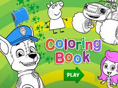 Nick Jr Coloring Book