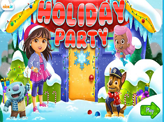 Nick Jr Holiday Party