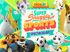 Nick Jr Super Snuggly Sports Spectacular