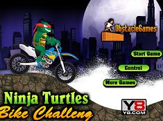 Ninja Turtles Bike Challenge